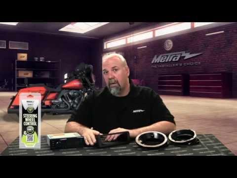 Metra Harley Davidson Touring Models Dash Kit 99-9600, Speaker Adapters 82-9600 And 82-9601