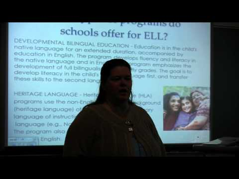ELL Conference 2012: Pull-Out, Push in, Immersion?