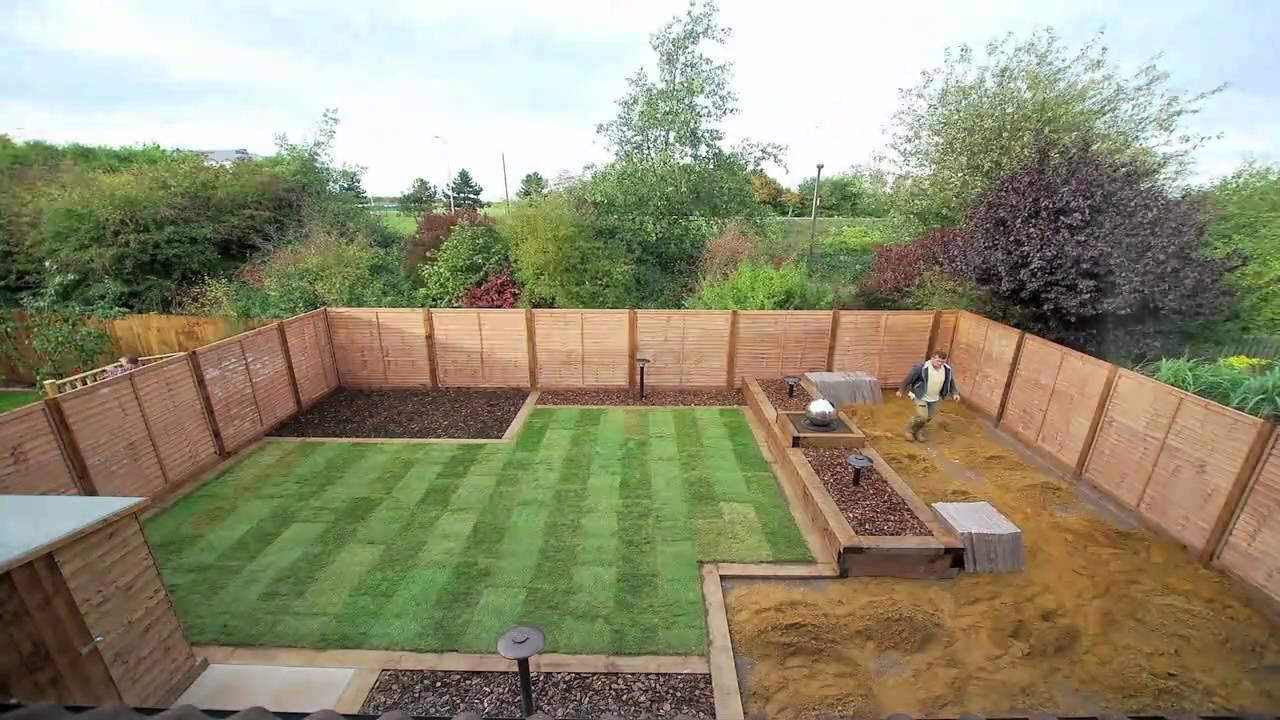 Garden Renovation - YouTube on Small Backyard Renovation Ideas id=67473