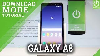 How to Enter Download Mode in SAMSUNG Galaxy A8 (2018)