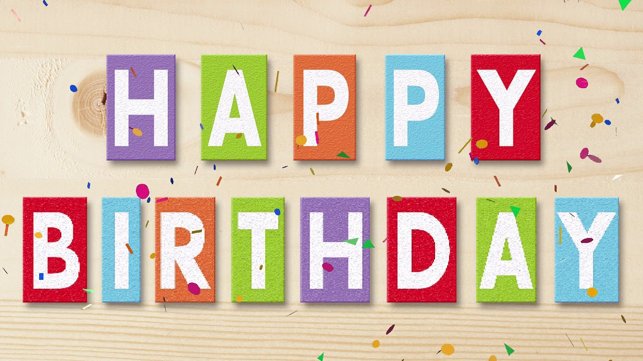 födelsedag textförslag Happy Birthday Text Message Animated Greeting   YouTube födelsedag textförslag