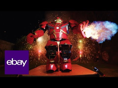 eBay | Epic Hulkbuster Build feat. Colin Furze x XRobots