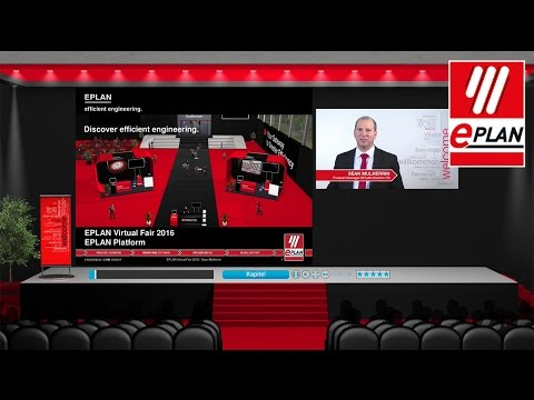 EPLAN Virtual Fair 2016: Presentation EPLAN Platform by Sean Mulherrin