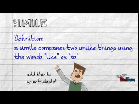 Figurative Language Similes Idioms Personification L5ab Youtube
