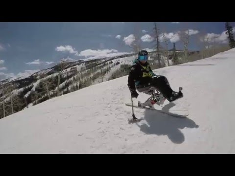 Downhill Tour with Chris Devlin-Young at the National Disabled Veterans Winter Sports Clinic