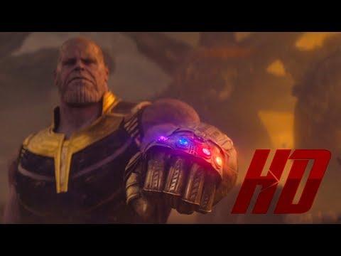 БИТВА НА ТИТАНЕ / Танос побеждает Мстителей и Стражей [3/3]. Мстители 3: Война бесконечности. 2018