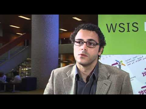 WSIS Forum 2011: Mr Slim Amamou
