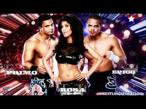 """Epico,Primo & Rosa Mendes 1st WWE Theme Song - """"Barcode"""" (WWE Edit) [HQ+Download Link]"""