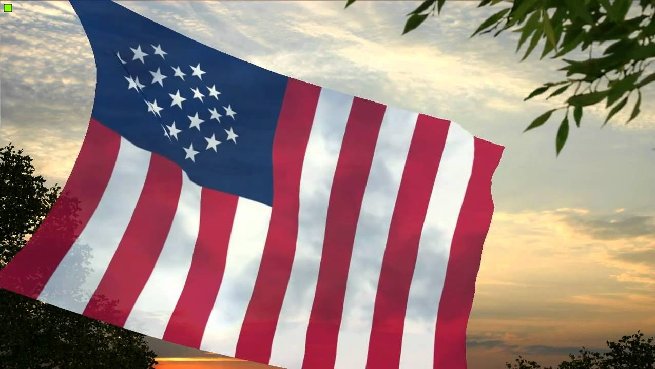 Flag And Anthem Of The Allied States Of America YouTube - States of america song youtube