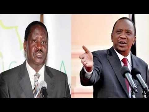 Politricks: Cord leader Raila Odinga vs President Uhuru Kenyatta over roads