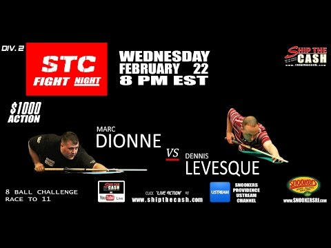 STC Fight Night: Marc Dionne vs Dennis Levesque Division 2 A