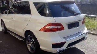 Купить Mercedes-Benz M-класса 2012 года (W166) AMG белый бензин 350 306 л.с. - Москва(, 2016-04-13T12:32:25.000Z)