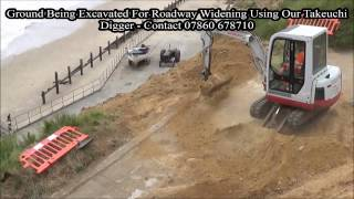 Anglian Water Project @ Mundesley Lifeboat Station - Roadway Widening