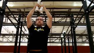 Convict Conditioning 2 - Towel hangs w/ Tom Foley