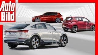 Neuheiten - Diese Autos kommen 2019