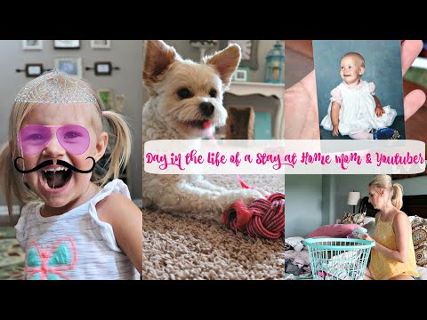 Day In The Life of a Stay at Home Mom and Youtuber- Puppy Sitting-Going Down Memory Lane