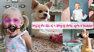 Day In The Life of a Stay at Home Mom and Youtuber- Puppy Sitting-Going Down Memory Lane thumbnail