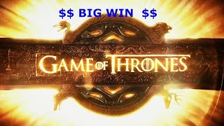BIG WIN DRAGON WILDS $5 bet Game of Thrones Slot Machine Feature(, 2016-01-17T16:27:06.000Z)