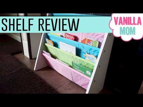 tot tutors pastel color book rack bookshelf chrismas wishlist toy review - Tot Tutors Book Rack Primary Colors