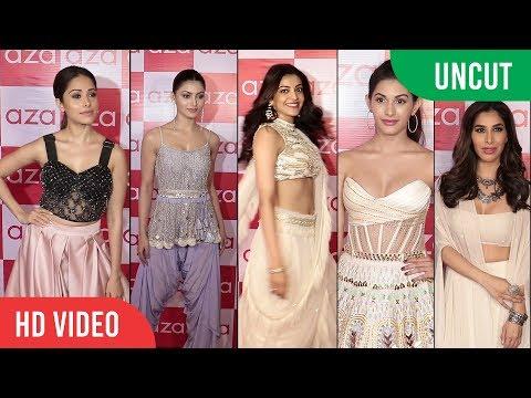UNCUT  -  The Holiday Edition SS18 at Aza Launch   Kajal Agarwal, Urvashi Rautela, Amyra Dastur