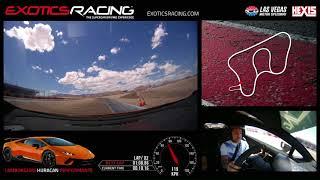Lamborghini Huracan Performante at Exotics Racing Las Vegas