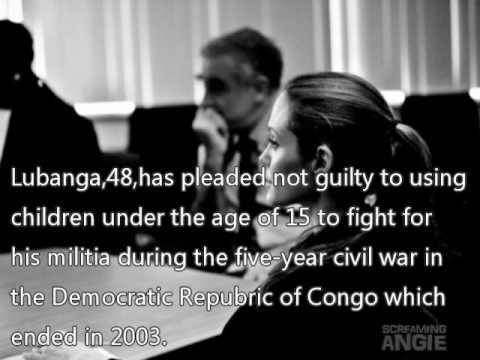 Angelina Jolie Attends Trial Of Congo Warlord Charged With Using Child Soldiers