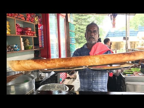 70MM Dosa | Biggest Dosa Making Ever | Indian Street foods