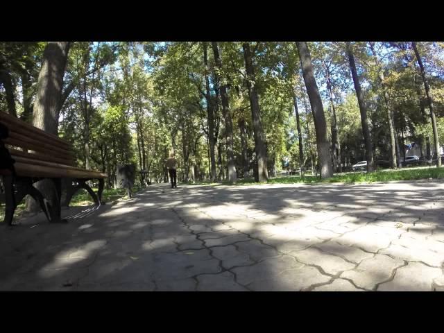 Bishkeks Erkindik Park Timelapse