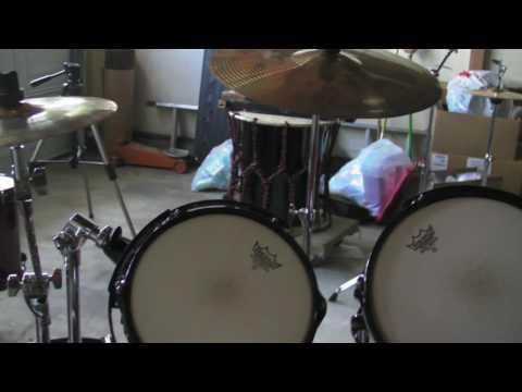 Triple Bass Drum Setup Tour