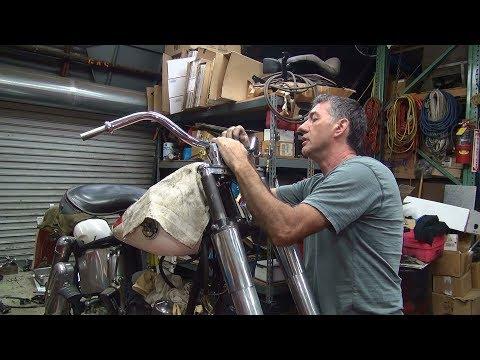1958 panhead 74ci #108 fl bike rebuild topend repair harley by tatro machine