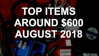 DJ Deals - Top Items Around $600 August 2018