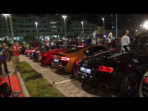 Gulf Car Festival 2014 Full Walk Around!!