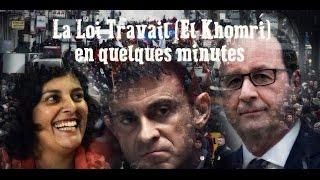La loi Travail (El Khomri) en quelques minutes