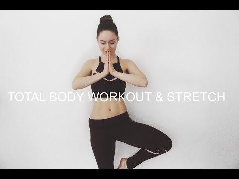 Total Body Workout & Stretch ❤ COMPLETE EXERCISE ROUTINE