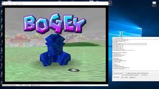 Mario Golf. Boo Valley P2P Justase Vs. Cory (N64 kaillera netplay)