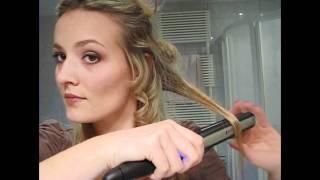 Kako nakovrčati kosu peglom