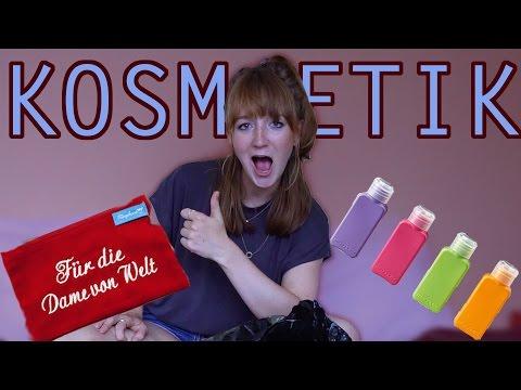 Kosmetik & Make-up für 6 Monate Reisen - Travel Essentials | Mirellativegal