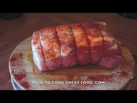 Oven Roast Pork Recipe - How To Roast Pork - Easy Roast Pork - Pork Joint - Crispy Pork