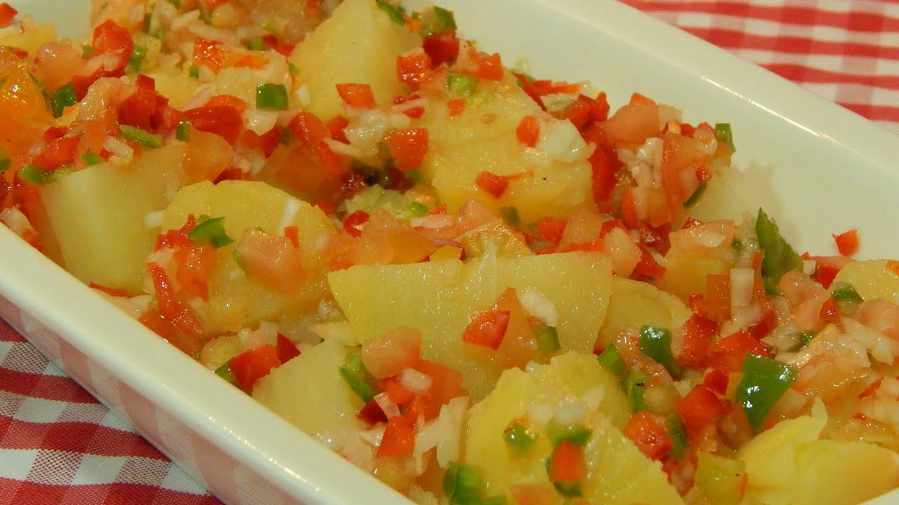 recetas ensalada de patatas