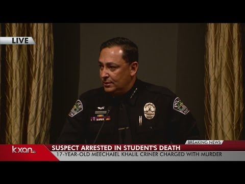 FULL VIDEO: Suspect arrested in UT homicide