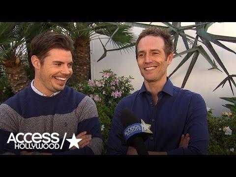 Josh Henderson & Michael Vartan Discuss 'The Arrangement' Getting Dark   Access Hollywood