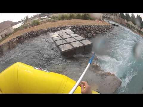 Dubai white water rafting