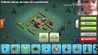 (Clash of Clans)Layout para casa do construtor nível 4