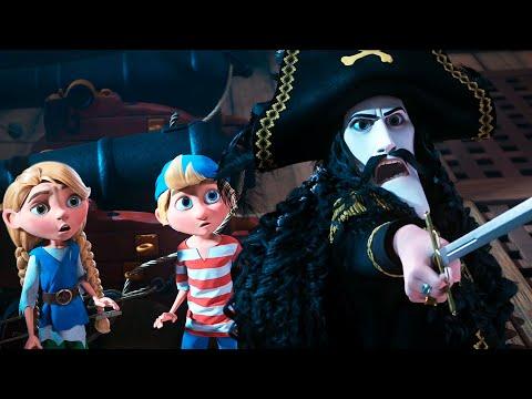 Капитан Саблезуб и Волшебный бриллиант — Русский трейлер (2020)