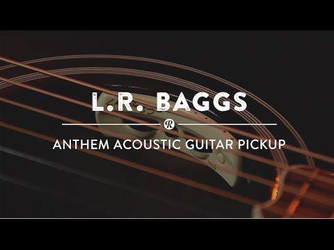 L.R. Baggs Anthem Acoustic Guitar Pickup | Reverb Demo Video