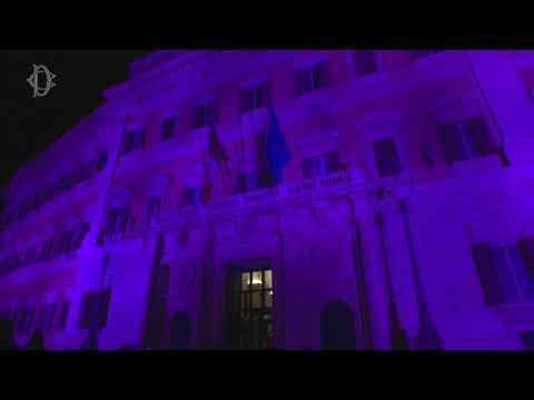 Giornata di sensibilizzazione sul tumore al seno: Montecitorio si illumina di viola