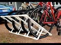 DIY: Making a Home-made Pallet Bike Rack.