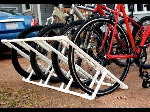 DIY: Making a Home-made Pallet Bike Rack.