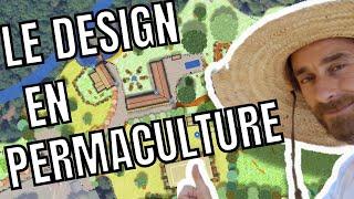 Realisation d'un design, autonomie alimentaire des territoires en Permaculture  étape par étape,