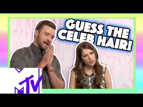Justin Timberlake And Anna Kendrick Play GUESS THE CELEB HAIR! | MTV